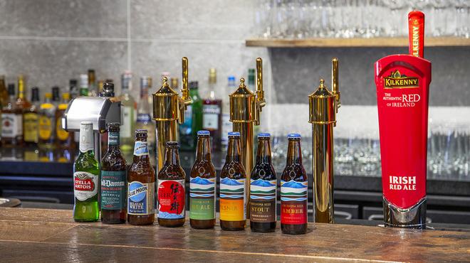 Grill×Burger&Craft Beer Nikanbashi Burger Bar - ドリンク写真:クラフトビール各種