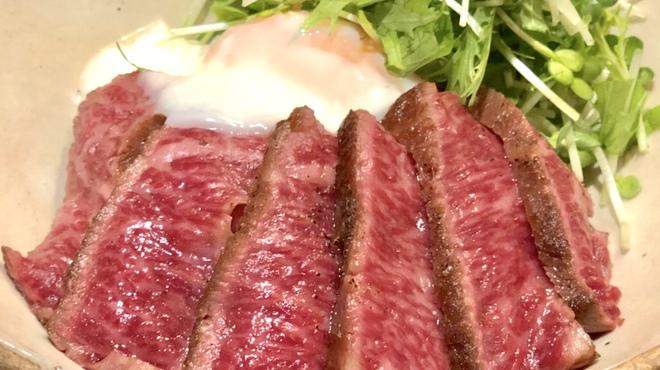 SAI.teppan - 料理写真:ランチタイム限定!黒毛和牛ステーキ丼