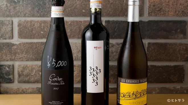 香辣里 - ドリンク写真:湖南料理と相性のいいナチュラルワインも充実