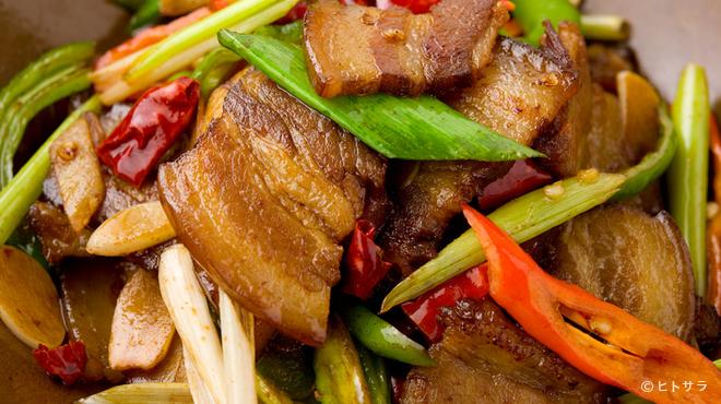香辣里 - 料理写真:本場湖南省の味をそのままに。だから自家製素材もたくさん