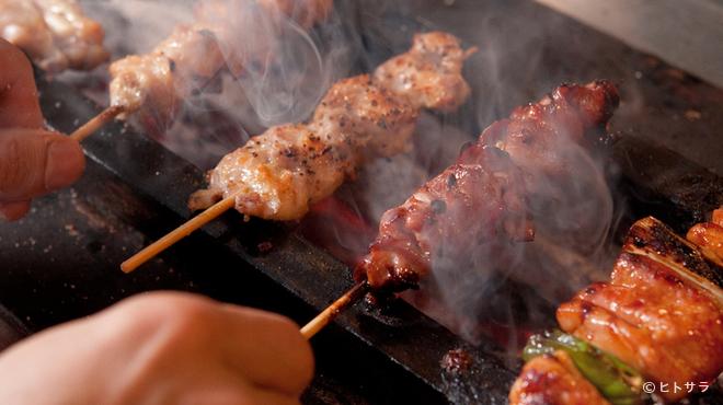 晩鶏 - 料理写真:『晩鶏 焼鳥六本コース』