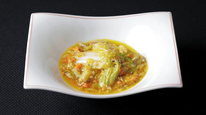 メゾン・ド・ユーロン - 料理写真:姪々菜の上海蟹ミソ煮込み