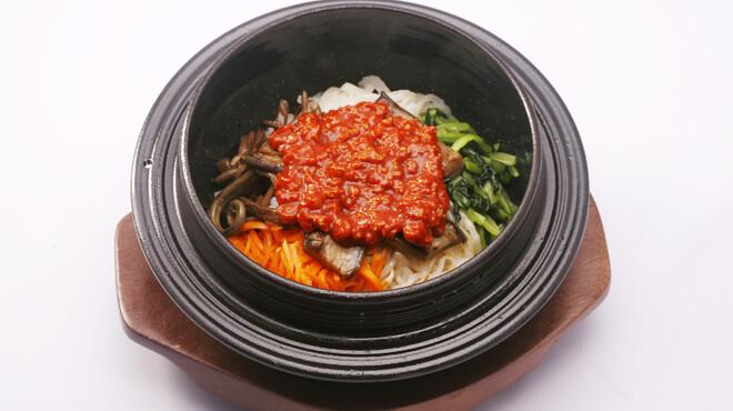 美味談 - 料理写真:美味談鉄釜ビビンバ