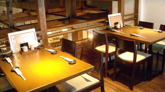 酒の魚 和海 - 内観写真:2F席