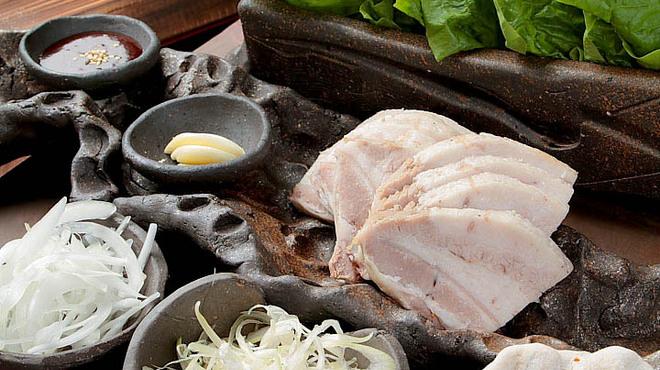 ともじろう - 料理写真:サムギョプサル