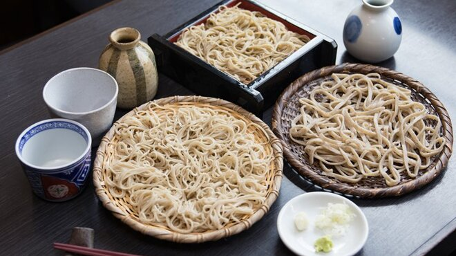 手打ち蕎麦と酒 佳蕎庵 - 料理写真:佳蕎三昧