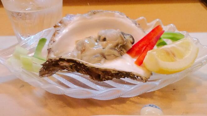 すし磯 - 料理写真:カキ