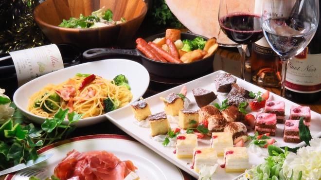 ラヴァーズロック - 料理写真:大人気『女子会コース』女性限定でとてもお得なコースをご用意しております!!