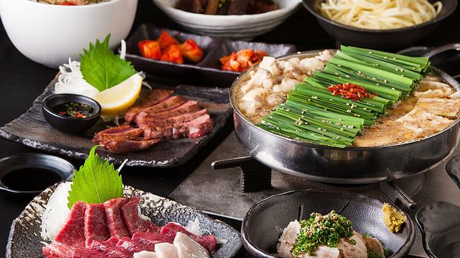 博多もつ鍋おおやま - 料理写真: