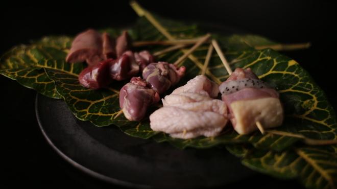 焼き鳥 陀らく - 料理写真:
