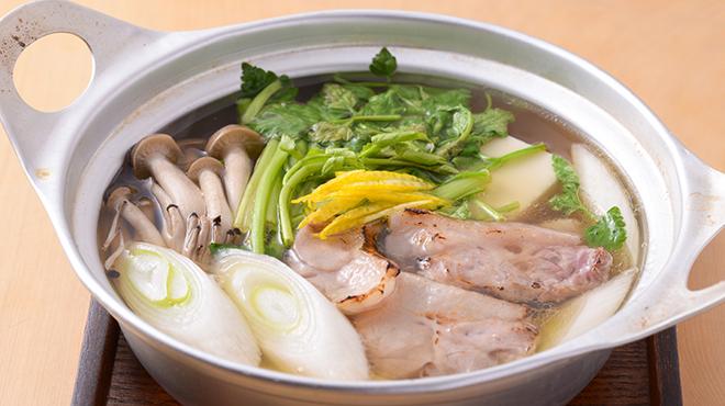 食堂 ユの木 - メイン写真:鴨小鍋