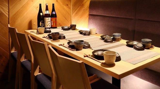 個室×日本酒バル 魚の目利き - メイン写真: