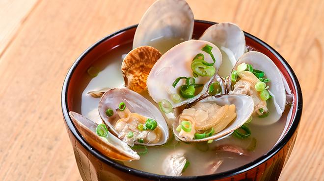 梅山鉄平食堂 - メイン写真:貝汁