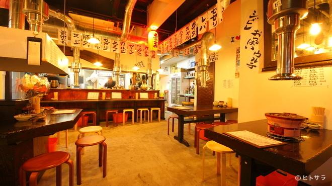 ホルモン平田 - 内観写真:安くて美味しい!ご宴会のご予約は『新小岩ホルモン平田』で!
