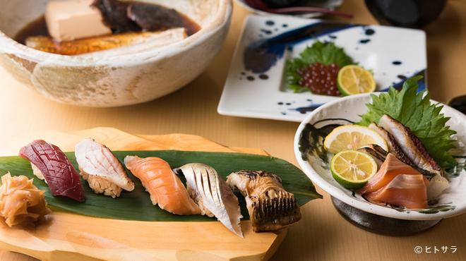 あさひ奈 - 料理写真:本格江戸前寿司をいただきながら、心に残る宴を
