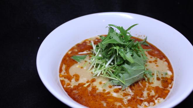竹餃 - 料理写真:特製担担麺大人気の竹餃名物!温冷/汁なし・あり/辛さ 選べます♪
