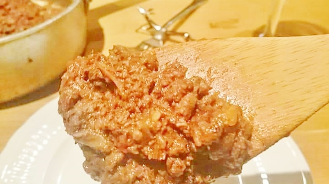 ジビエ&ワイン ブラッスリー山梨 - 料理写真:鹿肉のミートソース
