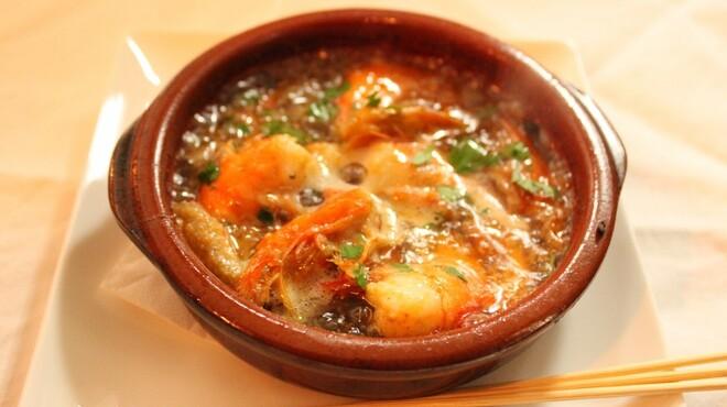ルサーク - 料理写真:エビのアヒージョ