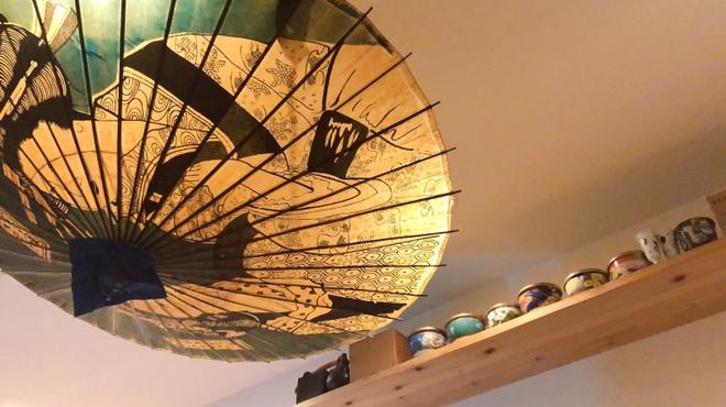 東香福如 - 内観写真:店長こだわりの照明