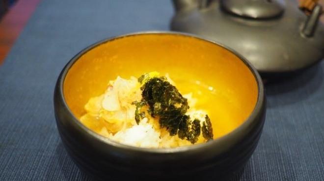 東香福如 - 料理写真:鯛茶漬け