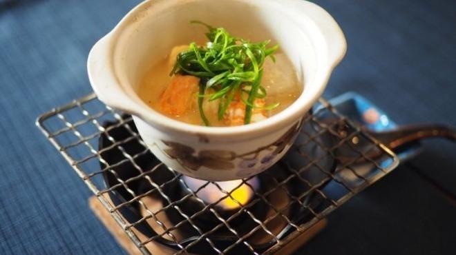東香福如 - 料理写真:天使の海老 大粒ハマグリの小鍋