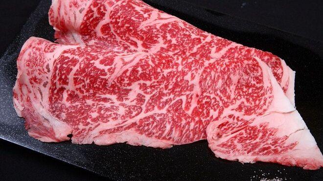 やきにくCHAN - 料理写真:黒毛和牛の特選 牛しゃぶ! 1980円