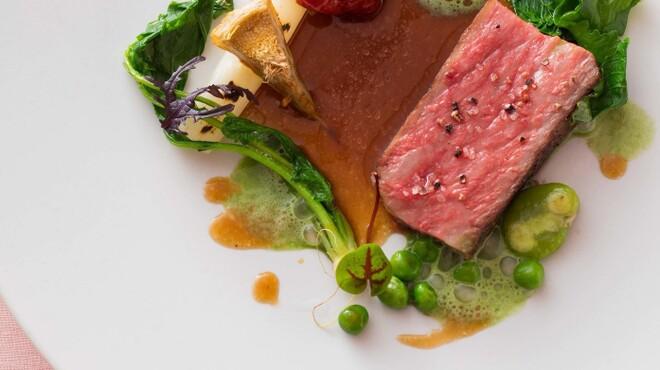 クイーン・アリス - 料理写真:和牛ロース肉のロティ