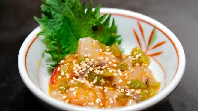 Na味 - 料理写真:タコキムチ