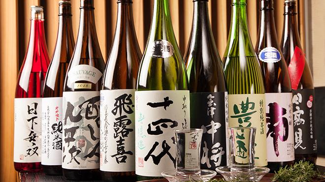 日本橋茅場町 寿司 鮮極 - ドリンク写真:ライトな感覚でお楽しみいただけるお飲物もご用意しております。