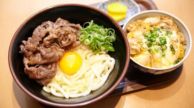 二◯加屋長介 - メイン写真:肉かま玉うどん&丼セット
