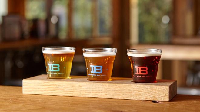 クラフトビアバル IBREW - メイン写真:飲み比べセット