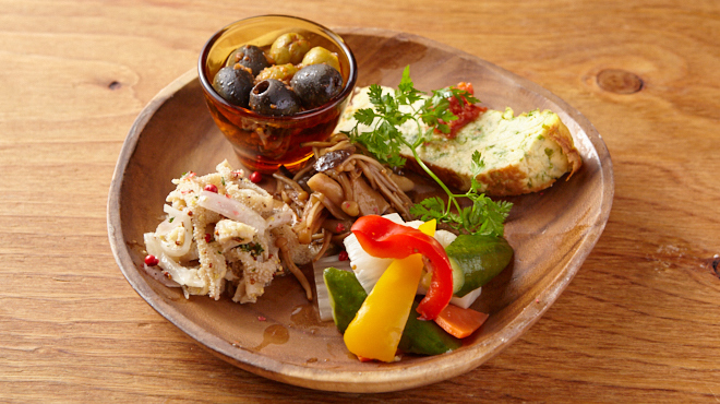 クラフトビアバル IBREW - メイン写真:前菜盛り合わせ
