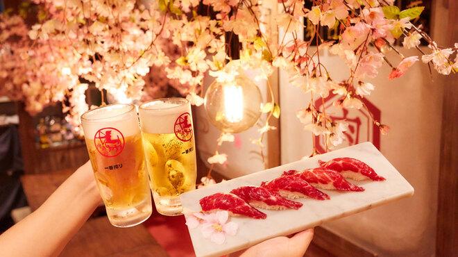 梅田東通り 肉寿司 - メイン写真: