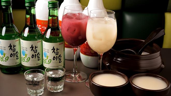 Wine:Korean sampa - メイン写真:ドリンク