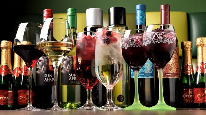 Wine:Korean sampa - メイン写真:ワイン