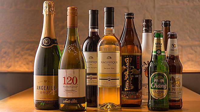 座135 - メイン写真:酒_ボトル