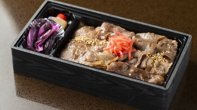 鉄板 あらた - 料理写真:黒毛和牛すき焼き弁当 テイクアウト