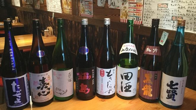 36番倉庫 - ドリンク写真:本日の日本酒