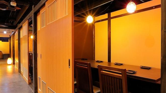 仙台名物 牛タン せり鍋 全席個室居酒屋 やぐら - 内観写真:
