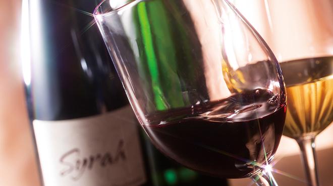 中国料理 桃花林 - ドリンク写真:毎月20日はワインの日!