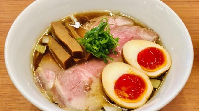 鶏そば煮干そば 花山 - 料理写真:
