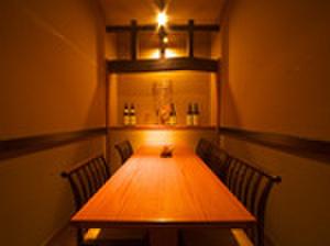 六右衛門 - 内観写真:個室でゆっくりくつろげます。