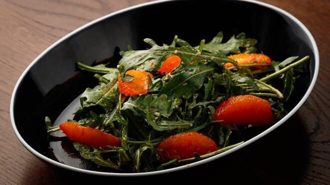 biodinamico - 料理写真:野生のルーコラサラダ