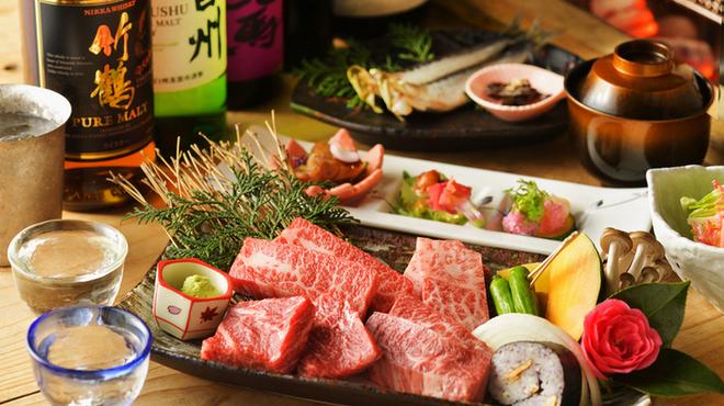 和火一 - 料理写真:飲み放題も消費税もすべて込み!10,000円コース