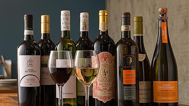 ソラピッツァ - メイン写真:ワイン