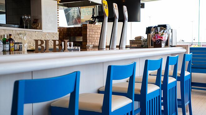 リバーサイドレストラン BIBI - メイン写真:カウンター