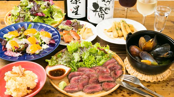 日本酒 ト ワイン 岡野 - メイン写真:パーティー