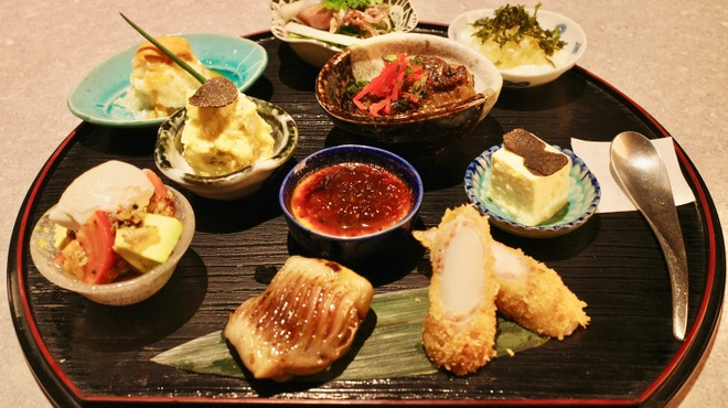 十番右京 - 料理写真:恵比寿限定ランチプレート(5/1〜)
