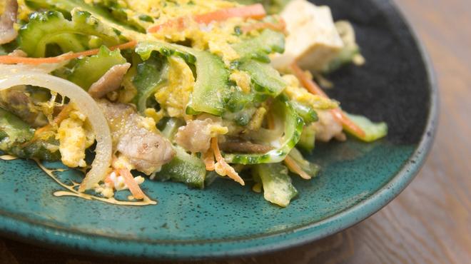 沖縄Diningでーじな豚 - 料理写真:ゴーヤーちゃんぷるー