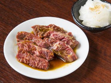焼肉TABLEさんたま - 料理写真:牛ハラミ&大根酢の絶品コンビ